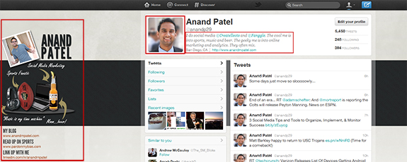 Anand Patel's Twitter Profile
